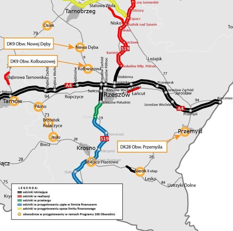 Zachodnia obwodnica Przemyśla ma mieć 22 kilometry. Jest decyzja o rozpoczęciu inwestycji [ZDJĘCIA, MAPA]