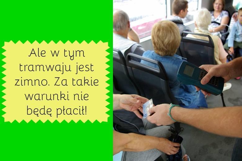 Kontrolerzy biletów codziennie muszą zmagać się z pasażerami, którzy podróżują na gapę. A gapowicze, jak to gapowicze, potrafią zaskoczyć swoimi wymówkami.