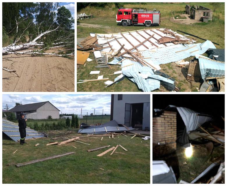 Burze dały się we znaki mieszkańcom woj. podlaskiego. Nawałnice zerwały dachy, połamały drzewa. Mnóstwo ludzi zostało bez dachu nad głową i prądu. Strażacy