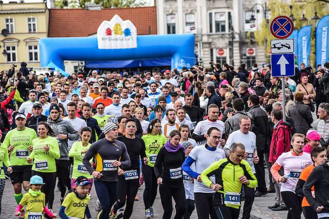 Bieg z okazji 670-tych urodzin Bydgoszczy