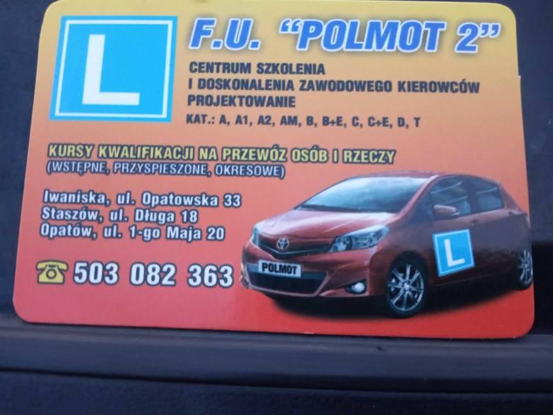 Sylwester Rycąbel ze szkoły Polmot 2 jest najlepszym instruktorem jazdy w powiecie opatowskim