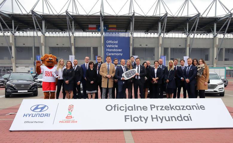 112 lśniących Hyundai przekazano do logistycznej obsługi Mistrzostw Świata FIFA U-20 Polska 2019 [ZDJĘCIA FILM]