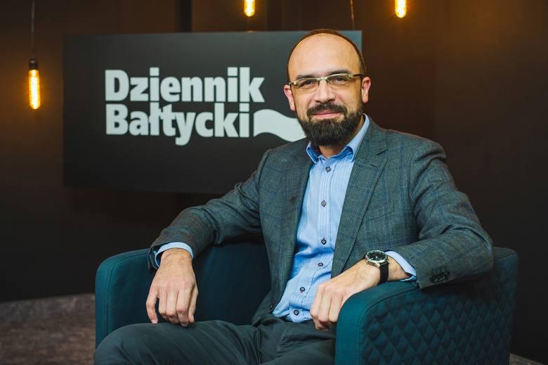 Dr Dariusz Wieczorek, ekonomista z Wydziału Zarządzania Uniwersytetu Gdańskiego
