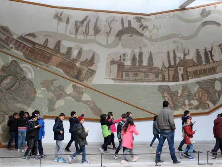 Tuniskie muzeum mozaik Bardo - cztery lata po...