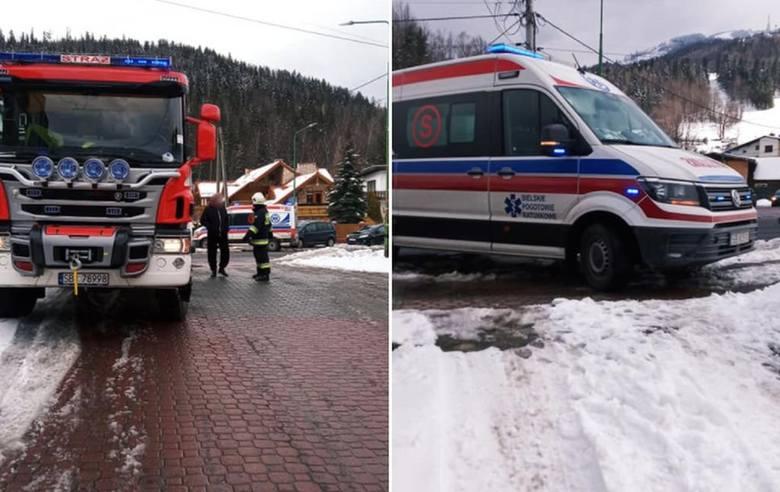 Nie było wolnej karetki, dlatego do 87-latki wysłano ratowników OSP