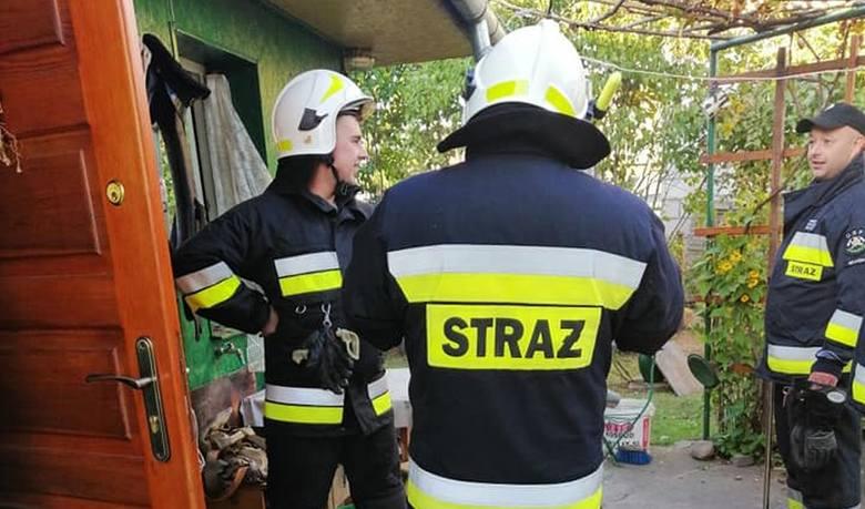 W poniedziałek o godz. 17 strażacy OSP Brańsk zostali skierowani na ulicę Ogrodową w Brańsku, aby udzielić pomocy załodze karetki pogotowia.