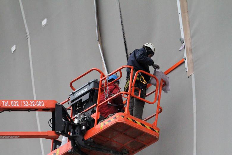Dziura w stadionie zostanie naprawiona za pieniądze z ubezpieczenia