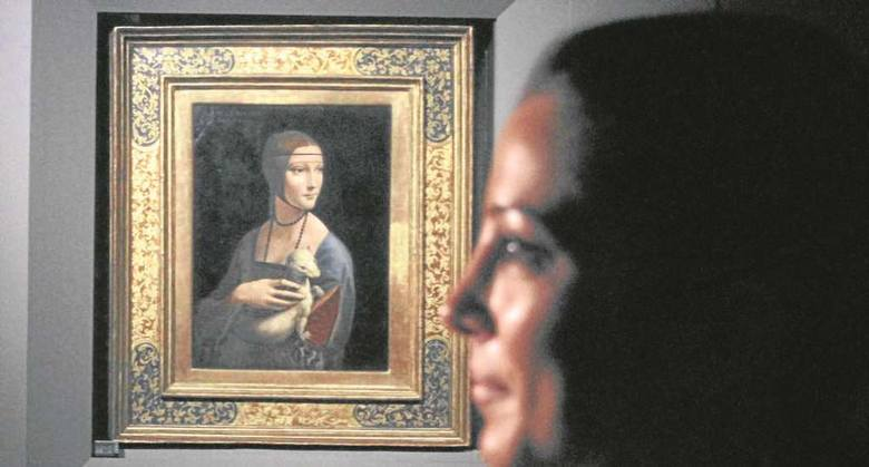 """Wśród kupowanych obiektów znajduje się """"Dama z gronostajem"""" Leonarda da Vinci"""