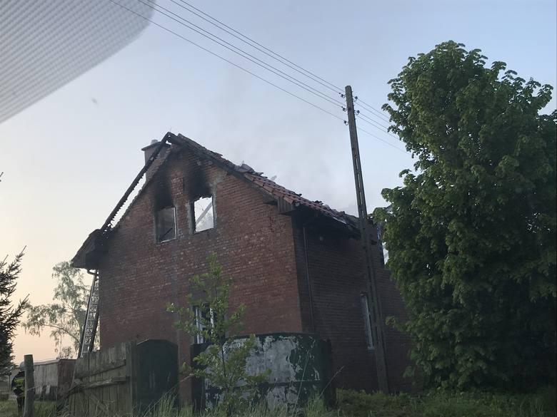 Powiat gryfiński: Pożar domu jednorodzinnego w Stokach