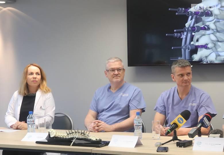 Zdroje: Nowatorska operacja kręgosłupa uratowała Natalii zdrowie i sprawiła, że urosła