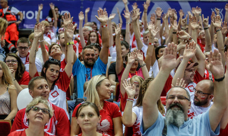 Kwalifikacje Tokio 2020. Polska - Tunezja. Znajdź się na zdjęciach! Tak dopingowali kibice na trybunach! [galeria]