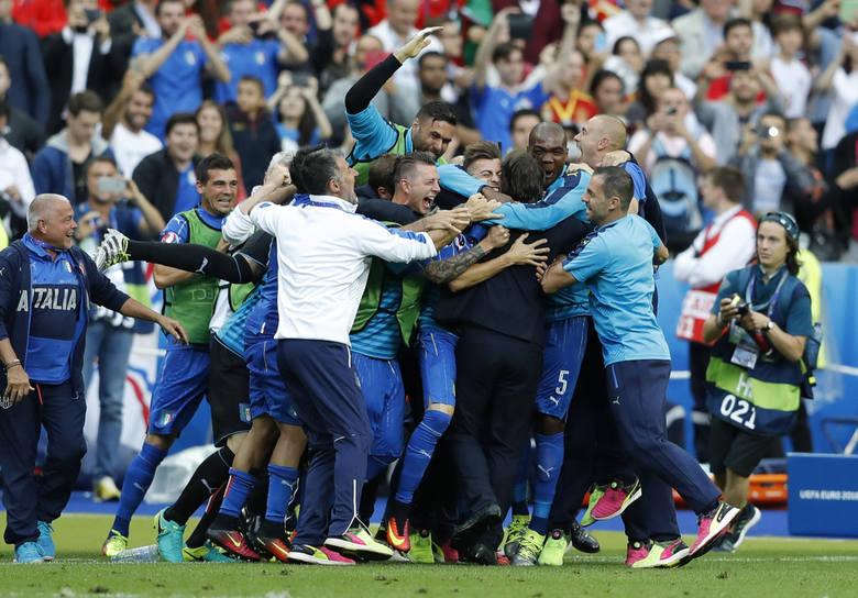Euro 2016: 1/8 finału Włochy - Hiszpania 1:0