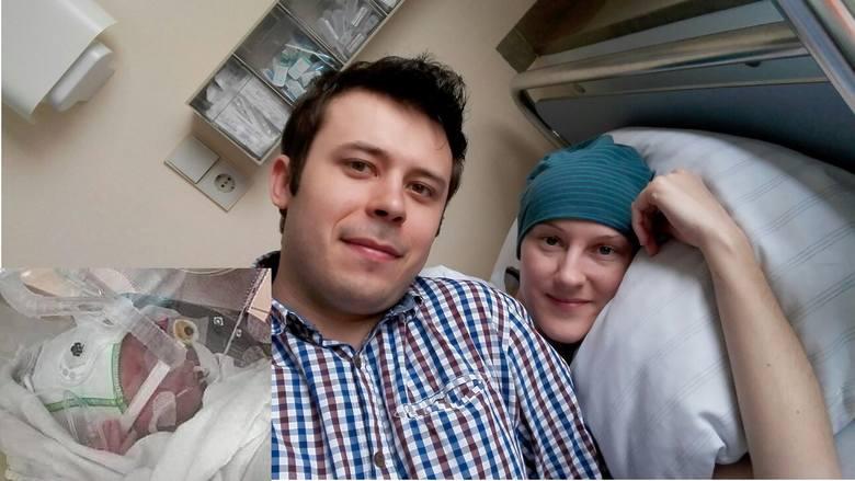 Ewa i Kamil są już rodzicami. - To nasze długo wyczekiwane 1480 gramów czystej miłości - mówią