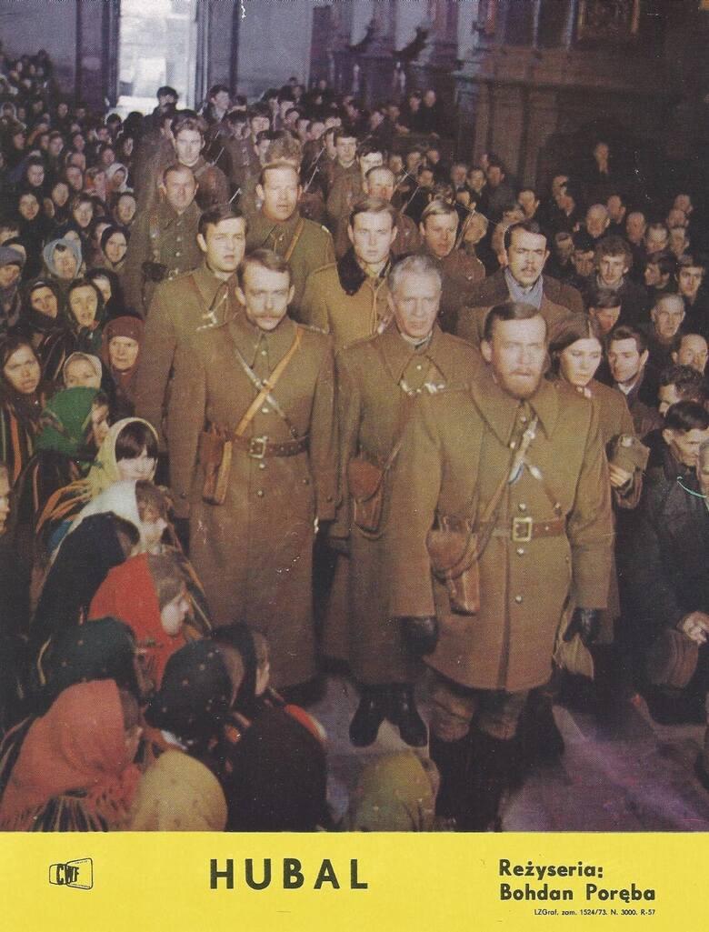 <strong>Hubal 1972 </strong><br /> <br /> Leszek Wronko:[i] W filmie zagrała autentyczna wioska. Podczas budowy Zalewu Sulejowskiego władze podjęły decyzję o jej zniszczeniu. Pracowaliśmy więc w prawdziwych chatach, a później mieliśmy możliwość ich spalenia. Bohdan Poręba musiał wszystkiego dopilnować. W...