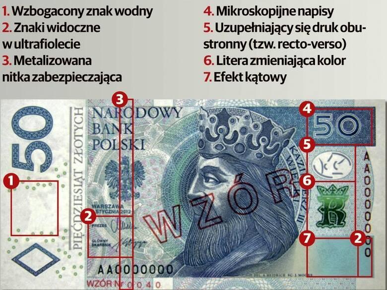 Kluczbork. Pracownik banku wykrył cztery fałszywe banknoty stuzłotowe