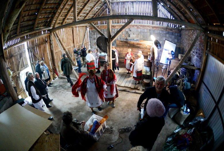 W studio filmowe zamieniła się stodoła Eugeniusza Niparki