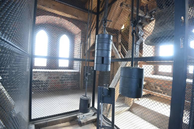 Wnętrze wieży ratusza