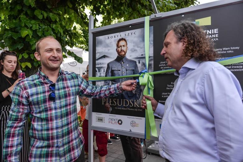 Borys Szyc otwiera wystawę fotosów z planu filmowego