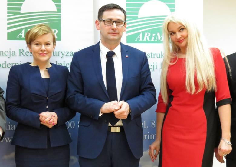 Prezes największej agencji rolnej z wizytą w Kielcach