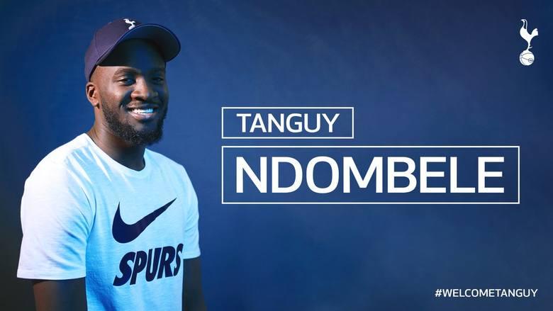 """Tanguy Ndombélé - mocny strzał """"Kogutów"""""""