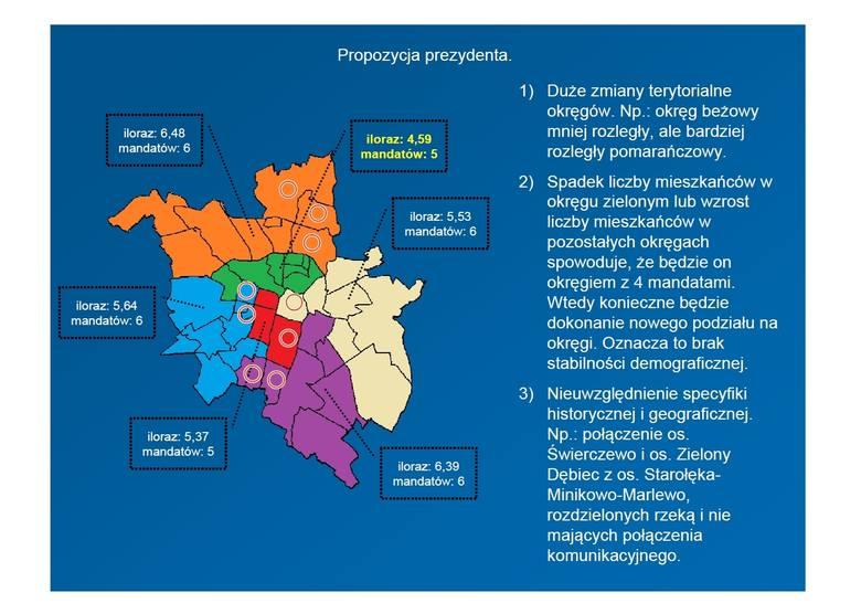 """Poznań: PiS chce debaty o okręgach wyborczych. """"Wariant prezydenta wyciągnięty z kapelusza"""""""