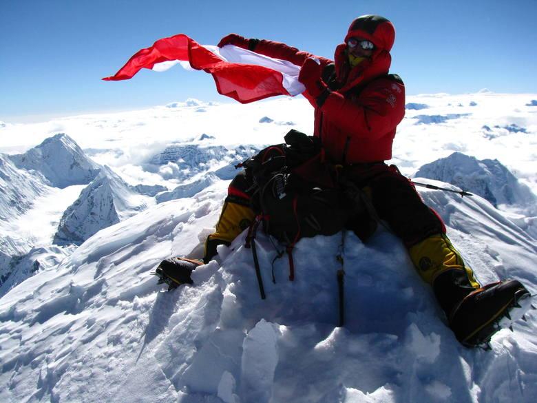Adam Bielecki był pierwszym gościem, który wystąpił na 16. Explorers Festival