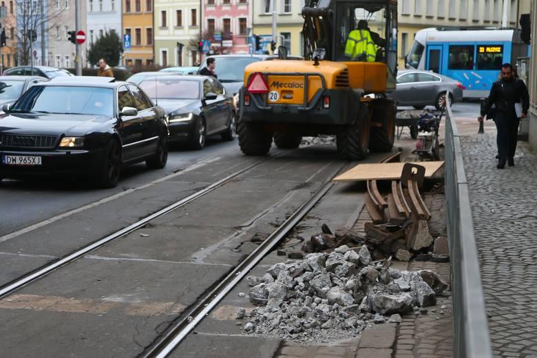 Wymiany rozjazdów, remonty torowisk, sieci trakcyjnej oraz zabezpieczenia na wiaduktach przeciw porażeniem prądem – Miejskie Przedsiębiorstwo Komunikacyjne