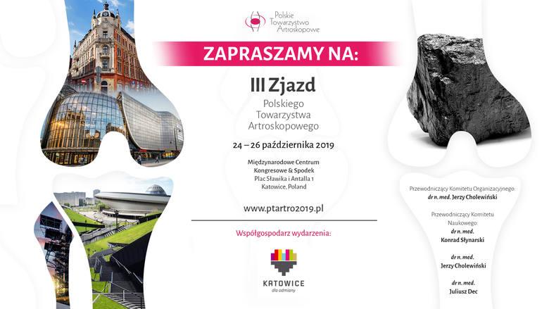 Ponad 700 lekarzy z całego świata spotka się w Katowicach, by rozmawiać o nowoczesnej artroskopii