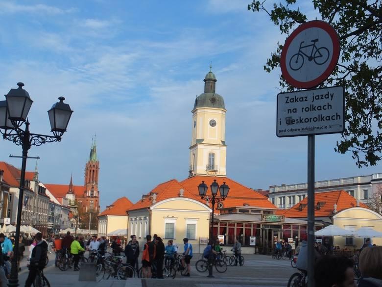 Rynek Kościuszki. Kwietniowa Masa Krytyczna (zdjęcia, wideo)
