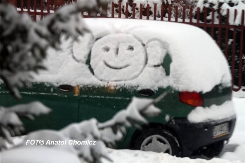 Uśmiechy i uśmieszki zimy