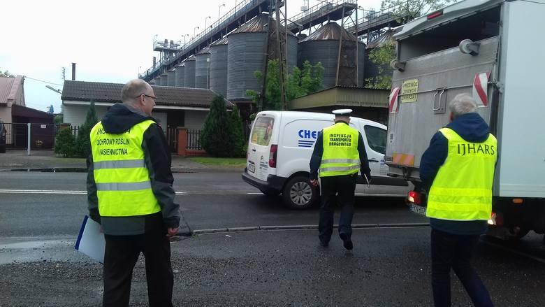 - W ostatnich dniach Wojewódzki Inspektorat Ochrony Roślin i Nasiennictwa w Bydgoszczy wspólnie z Inspekcją Transportu Drogowego nasilił kontrolne przywożonych
