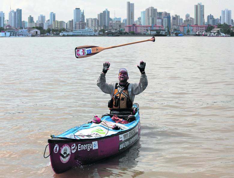 Podróżnik z Pomorza przepłynął Amazonkę w canoe
