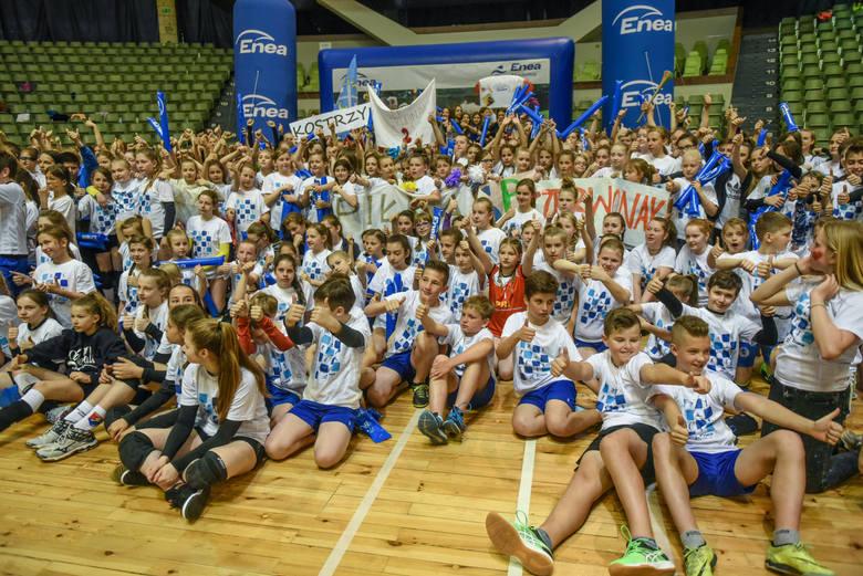 Enea Mini Cup to zawsze wielkie święto młodzieżowej siatkówki dla uczniów wielkopolskich szkół i ich opiekunów