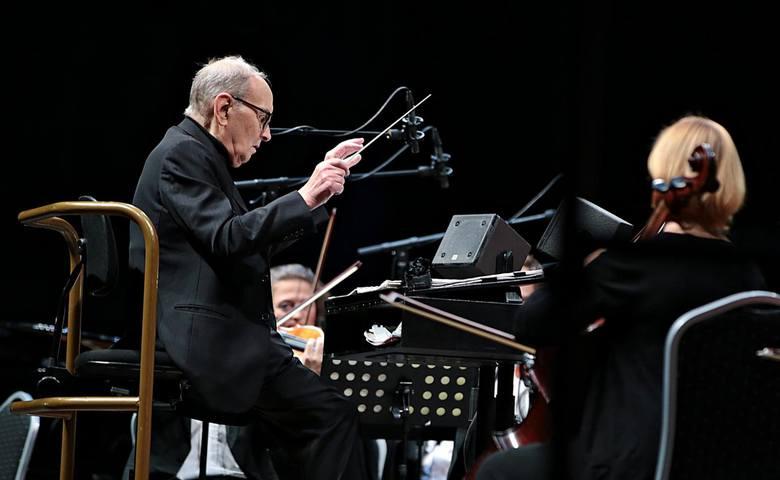Ennio Moricone wystąpił także na koncertach w Krakowie