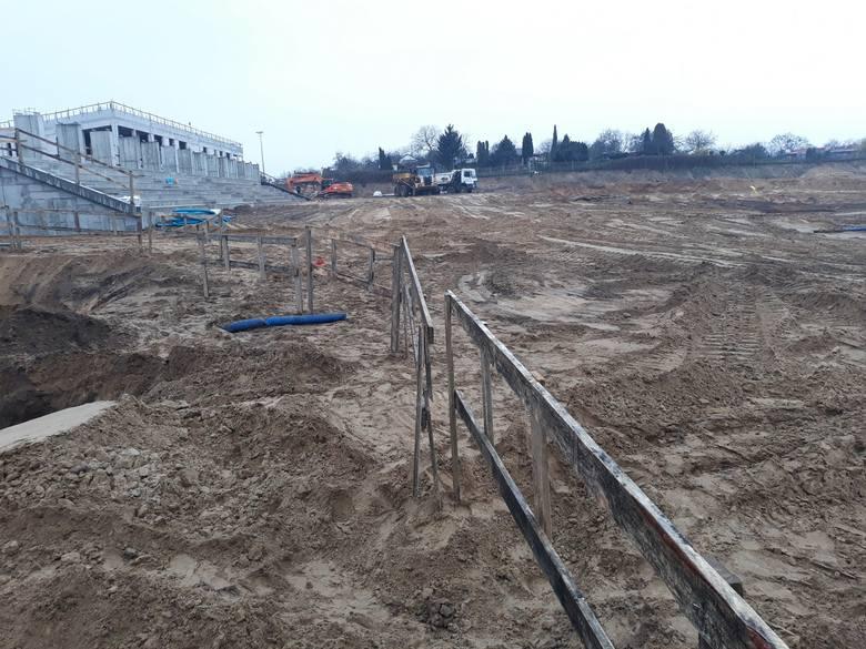 Stadion Pogoni - 6 grudnia 2019.