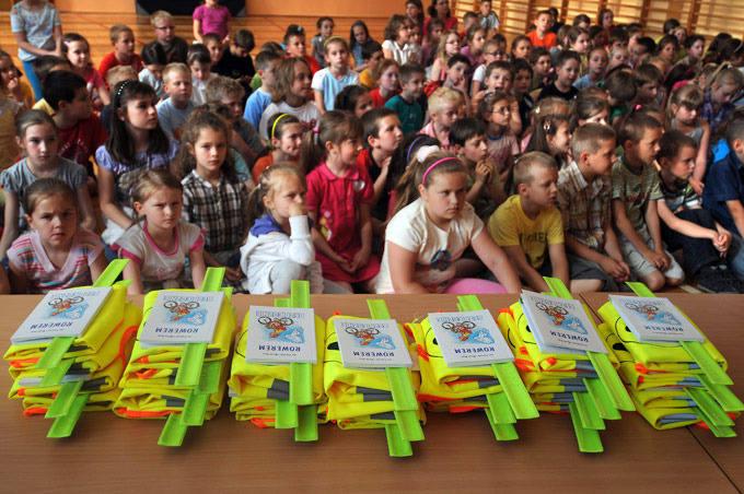 Opaski odblaskowe dla dzieci odlotowe! [zobacz zdjęcia]