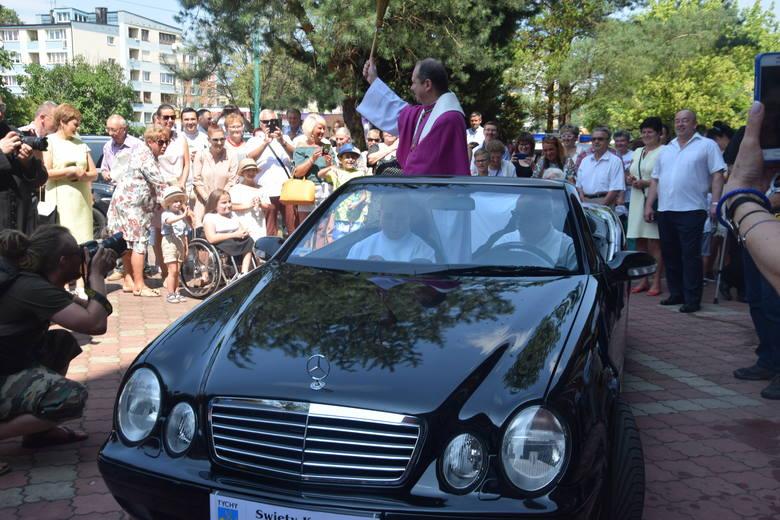 Święcenia pojazdów w parafii św. Krzysztofa w Tychach