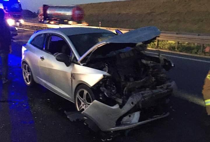 Seria wypadków na autostradzie A4. Duże utrudnienia