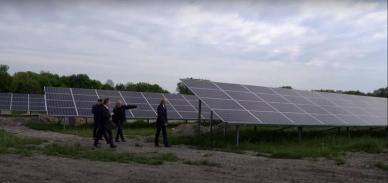 """Oczyszczalnia """"Hajdów"""" zasilana energią słoneczną"""