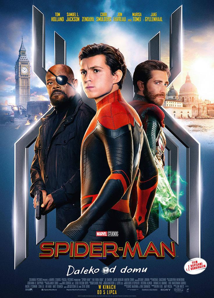 SALA 1<br /> 05.07.2019 r. PIĄTEK <br /> 11.30 - PREMIERA Spider-Man: daleko od domu 2d dubbing USA 135' | bilety 12zł <br /> 15, 17.30 - Spider-Man: daleko od domu 2d dubbing | bilety 20zł I 18zł I 16zł <br /> 20 - Spider-Man: daleko od domu 2d napisy | bilety 20zł I 18zł I 16zł <br />...