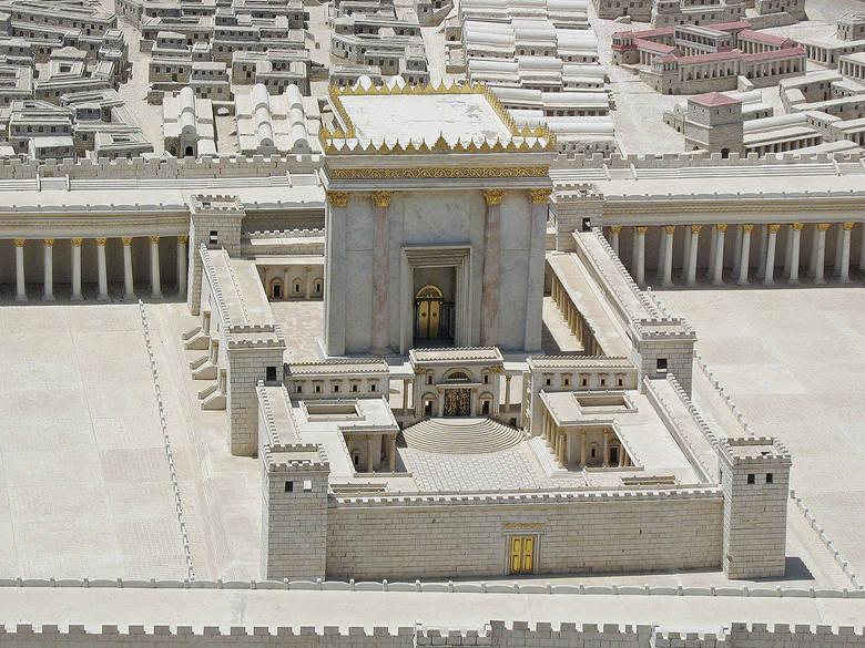 Rekonstrukcja Świątyni Jerozolimskiej w czasach Heroda Wielkiego