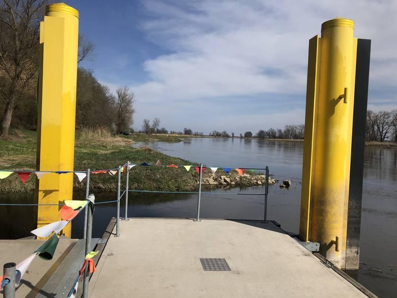 Przystań nad Odrą w Gostchorzu. Mieszkańcy wsi liczą, że rzeką znów będą przypływać goście...