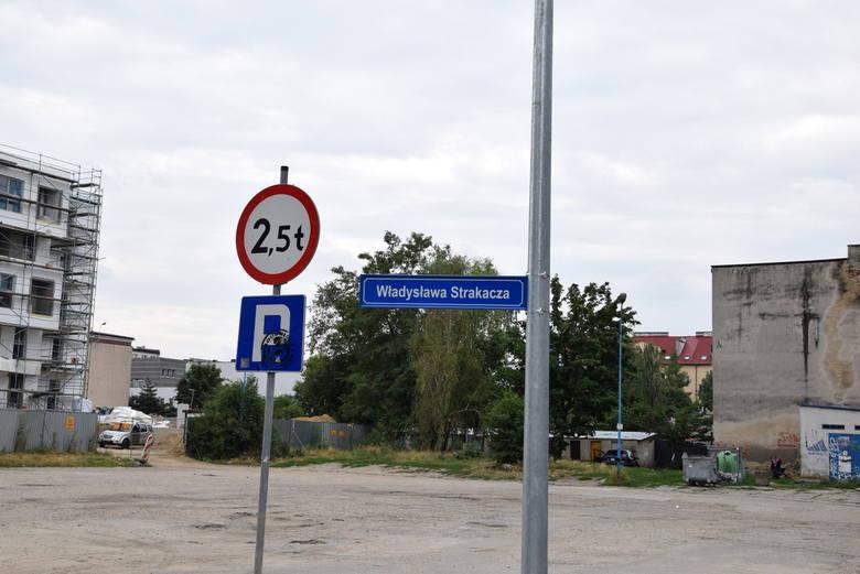 Ulica Władysława Strakacza