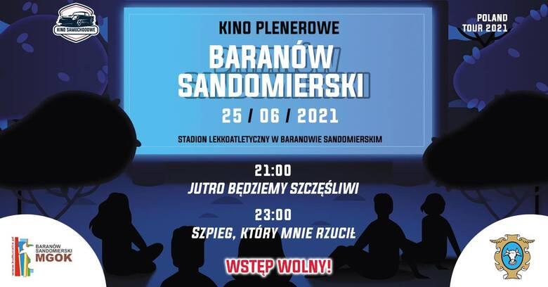 Baranów Sandomierski zaprasza w piątek na kino plenerowe. Wstęp wolny