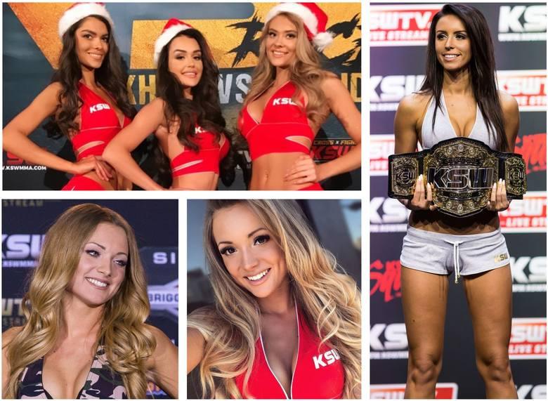 KSW to nie tylko efektowne walki w oktagonie. Atrakcją gal MMA są także pięknie Ring Girls, które przyciągają wzrok kibiców. Zobaczcie ich zawodowe i