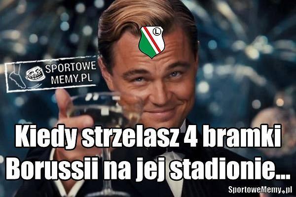 Memy po meczu Borussia - Legia: prawdziwy Zlatan, grali bez bramkarza [GALERIA]