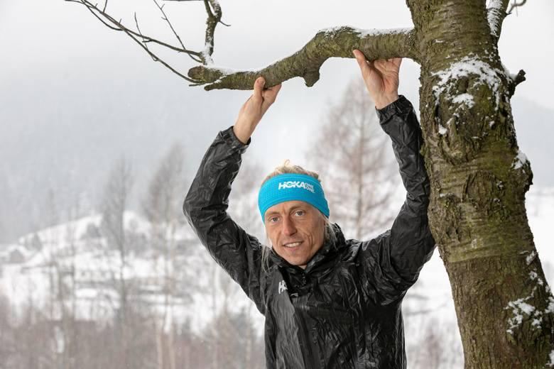 Roman Ficek wbiegł niedawno dziewięć razy na Rysy w ciagu doby
