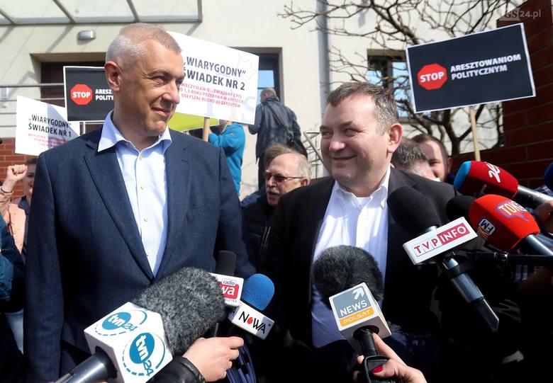 Stanisław Gawłowski zatrzymany w Szczecinie przez CBA! W tle zarzuty korupcyjne [ZDJĘCIA, WIDEO]