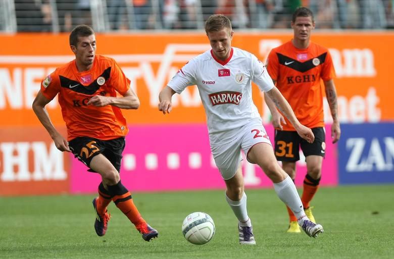 Sebastian Radzio zdobył wyrównującego gola.