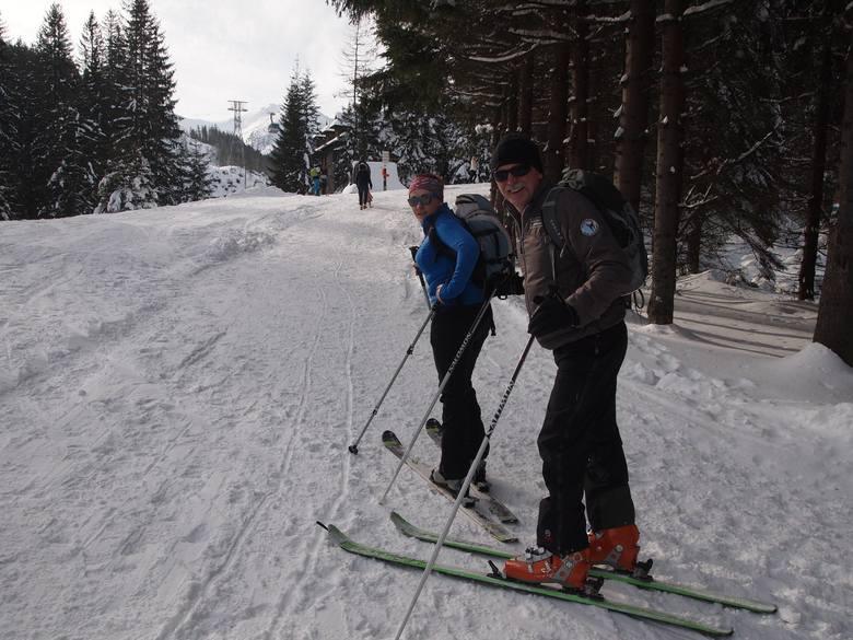 Tatry: skitourowcy, nie podchodźcie nartostradą
